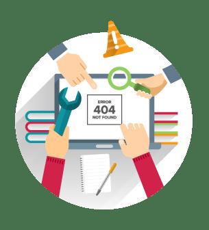 Debouge Tech website design process - Step6